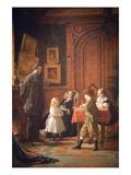 Christmas-Time  the Blodgett Family  1864