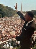 Martin Luther King, Jr. Papier Photo par Associated Press