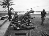 Vietnam Wounded Evacuation 1968