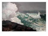 Northeaster Reproduction d'art par Winslow Homer