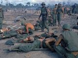 Vietnam War Wounded 1969