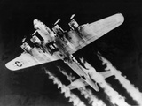 WWII USAF Flying Fortress Papier Photo