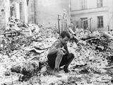 WWII Warsaw Air Raid Aftermath