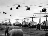 Vietnam War US Helicopters Gas