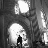 WWII Destroyed Church France