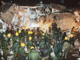 Iraq War Rescue after Scud Attack