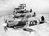 WWII Mark XII Spitfires 1944