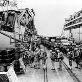 Korean War Marines USS Henrico