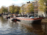 Travel Trip Amsterdam by Houseboat