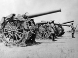 WWII Africa Italy Eritrea Captured Guns