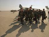 Saudi Arabia Army Soldiers USTroops Arriving Air Base