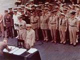 WWII Japan Surrender Ceremony