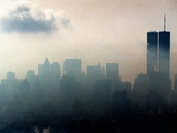Fog NYC Skyline
