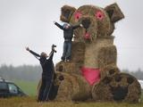 APTOPIX Belarus Harvest Holiday