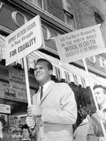 Segregation Protest Belafonte