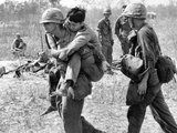 Vietnam War US Aid Enemy Wounded