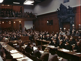WWII Nuremburg Trials 1946