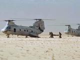 Wounded Marine Med-Evaced