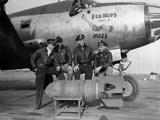 WWII Europe England US Air Force Pilot Crews