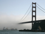 APTOPIX Golden Gate Fog