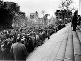 US Desegregation Rally