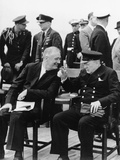 WWII Roosevelt Churchill