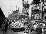 WWII London Docks
