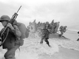 Vietnam War US Da Nang Landing