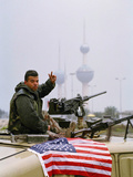 1991 Gulf War Kuwait Liberation