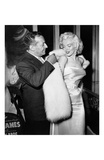 Ciro's Owner Herbert Hover and Marilyn Monroe