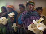 APTOPIX Guatemala Burial