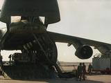 Saudi Arabia Army US C-5 Galaxy Cargo Plane