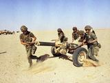 Saudi Arabia Army French Troops Guns 120mm Mortar