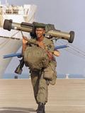 Saudi Arabia Army French Troops Kuwait Crisis Rocket Launcher