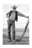 James Dean Standing at Fence Full