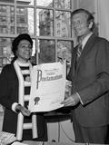 Lindsay Honors King 1972