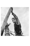 James Dean Hand on Post