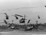 Vietnam Helicopter Assault