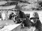 Vietnam War US Machine Gun