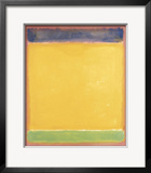 Untitled (Blue  Yellow  Green on Red)  1954