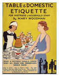 Table and Domestic Etiquette  UK