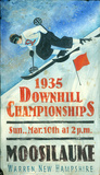 Downhill Skiing Vintage