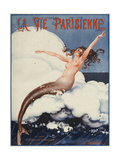 La Vie Parisienne  Leo Pontan  1924  France