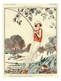 La Vie Parisienne, Jacques, 1924, France Giclée