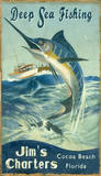 Marlin Fishing Vintage