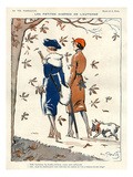 La Vie Parisienne  Georges Pavis  1919  France