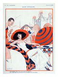 La Vie Parisienne  Vald&#39;es  1923  France