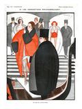 La Vie Parisienne  Jacques Souriau  1920  France