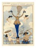 La Vie Parisienne  George Barbier  1916  France