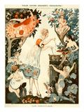 La Vie Parisienne  Vald'es  1919  France